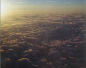 Clouds From Above / Air Plane photo / scenery / art