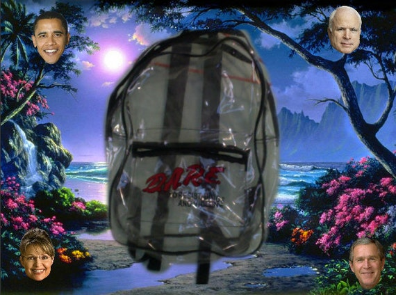 Dare Clear Backpack