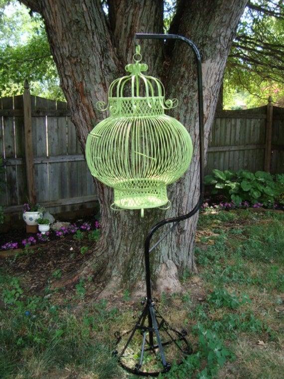 Vintage Handmade Birdcage