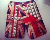 HALF PRICE Union Jack Studded iPhone Case. Celebrate the Olympics..