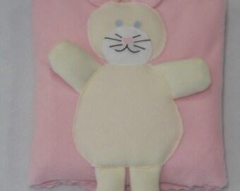 Children's Bunny AniBlanket (Fleece Quillow)