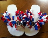 Texas Ranger Womens flip-flops