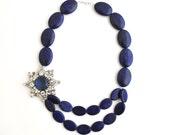 Blue Lapis Necklace - Dolores