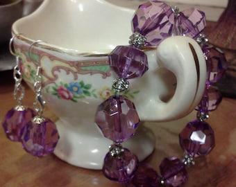 purple bling set