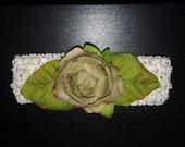 Elegant Rose Headband