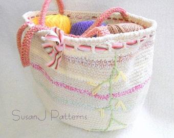 Summer Bag - Crochet Pattern PDF