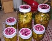 Homemade Sweet Pickles