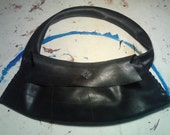 recycled rubber cycling purse