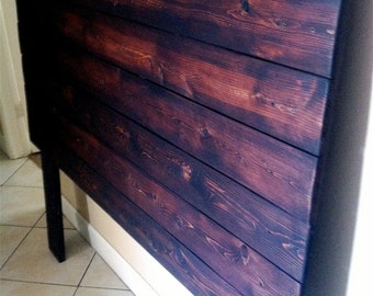 Rustic Queen Headboard