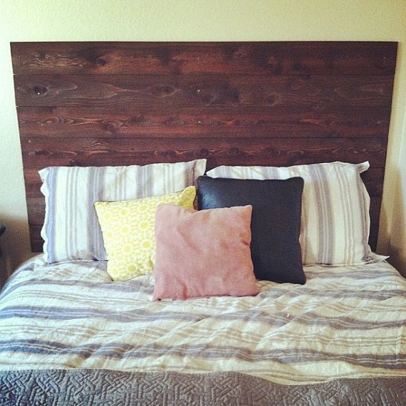wooden headboard  etsy, Headboard designs