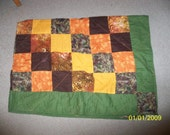 """Small Simple Quilt about 30""""x40"""""""