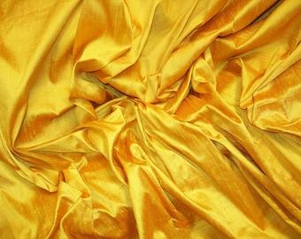 "Sunflower dupioni silk - 54"" wide"