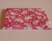Hello Kitty Duct Tape Coin Pouch