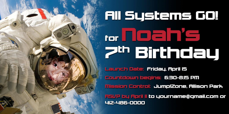 astronaut invitations - photo #22