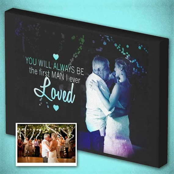 Father Daughter Dance Wedding Canvas or First Dance Wall Art!