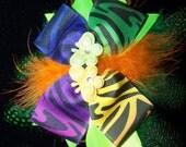 Zebra Butterfly Bow
