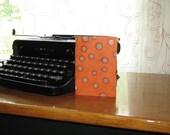 Jotter Notebook Blank - Orange  Pocket Notebook