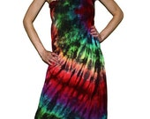 Tie Dye Dress - Boho Couture Line - Handmade by One Great Thing