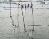 Double Row Crystal Necklace