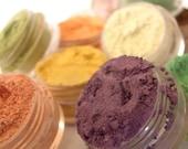 PICK 5 - Eyeshadow Mineral Makeup Natural Vegan Mineral Eye Color