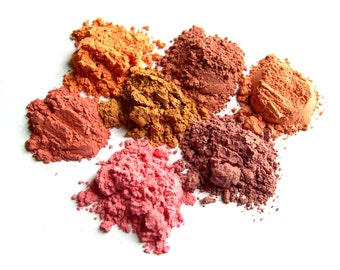 50% off Xmas in July Sale | Mineral Blush Makeup Sample - Pure Vegan Minerals