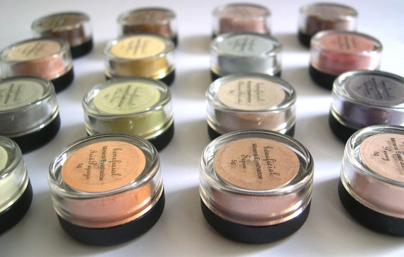 PICK 10 - Eyeshadow Mineral Makeup - FULL 5g Pure Natural Vegan Eye Color