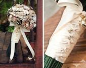 Custom Jewelry Brooch Bouquet - Deposit