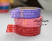 Washi Tape Set  - Japanese Washi Tape Set - 3 rolls - COMBO13