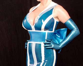 Sassy Sailor Latex Dress