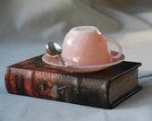 Teacup Night Light, Pink