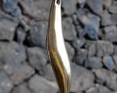 Elegant Sleek Brass Metal Pendant