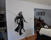 Final Fantasy 7 Inspired  Sephiroth Wall Decal featured image