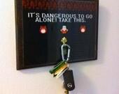 Zelda Video Game Key Hanger