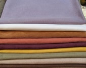 Suede Fabric  Bundle 10 Pieces