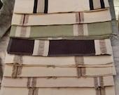 Cotton Linen Fabric  Bundle 10 Pieces