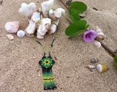 Beaded hand made necklaces, 5 different styles.