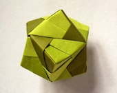 Origami Sturdy Ball: Green