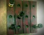 Free Shipping Custom Riddling Wine Rack Wall Hanging