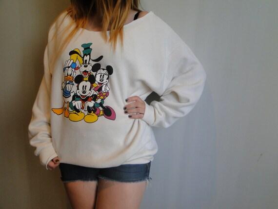 Disney Off Shoulder Sweater
