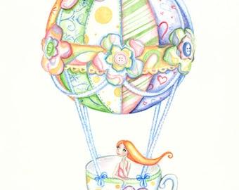I'll Take My Tea Cup Anywhere no.2 Card