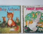 Little Golden Book Forest Hotel and Baby Animals
