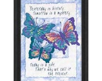 Cross Stitch Kit - Today is a Gift