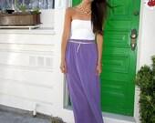 Periwinkle: Maxi Skirt