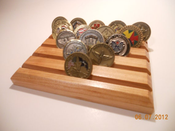 Cherry Challenge Coin Display
