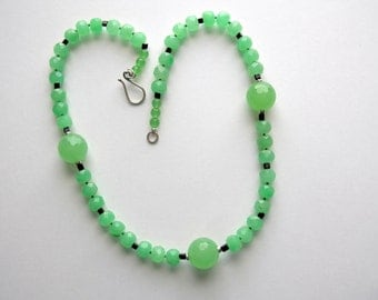 Lime Sherbet Beaded Necklace