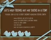 BOY Baby Shower Invitation - 5x7