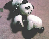 Panda Earrings, Paint Can necklace,
