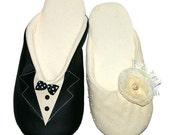 Bride&Groom slippers two pair set
