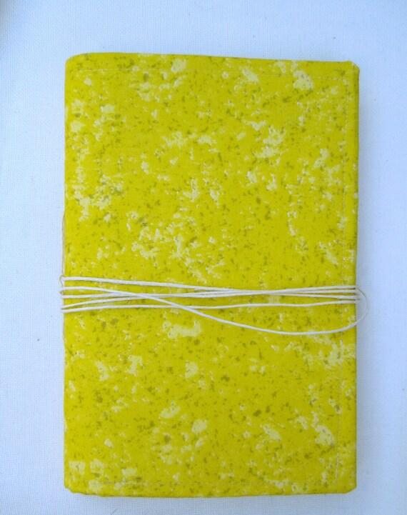 Bright Yellow Journal