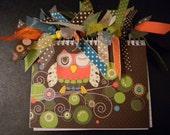 Owl Ribbon Notebook
